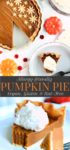 Vegan Pumpkin Pin Long Pin