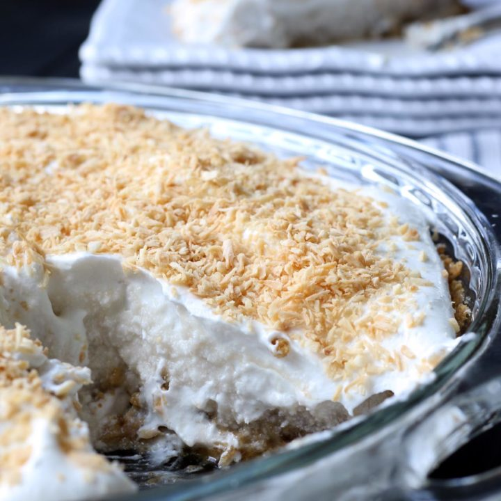 Coconut Cream Pie {vegan, nut-free}