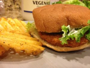 Vegan Chik-n Sandwich