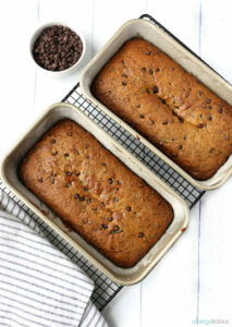 2 loaves of Zucchini Bread