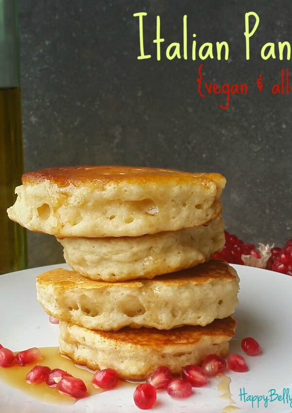 With only a few ingredients, these vegan and allergy free pancakes will delight both you and whoever else eats them.
