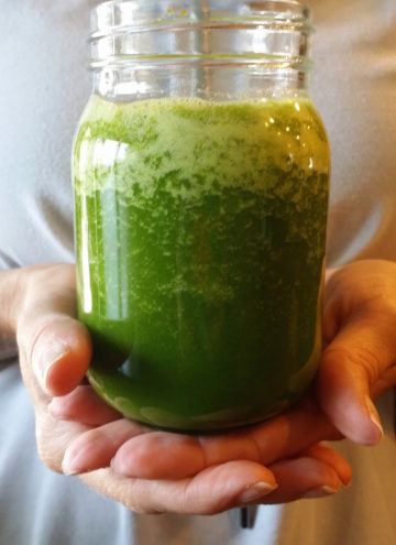 Cleansing & refreshing, blender Green Smoothie