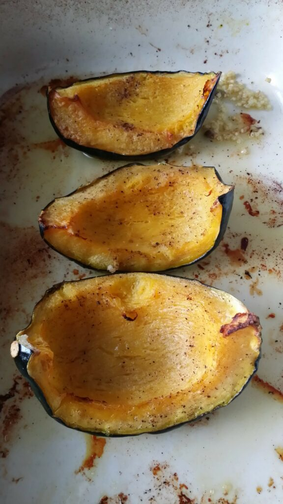 Sweet Roasted Kabocha Squash