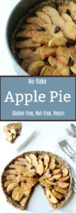 Take summer dessert to the next level with this seed-based, no bake, simply sweet, apple pie. Gluten-free & Vegan