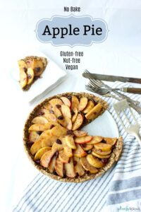 No-Bake Apple Pie {gluten-free, vegan, nut-free}