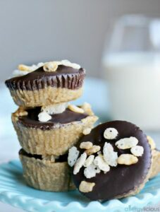 Crunchy Chocolate Sunbutter Cups