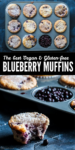 pinterest blueberry vegan muffin