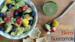 Mango Berry Guacamole