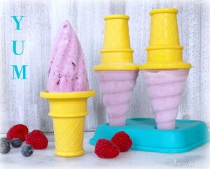 Dairy-free, Allergy-friendly berry Popsicles