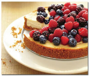 Homemade Vegan Cheesecake from The Kind Diet by Alicia Silverstone