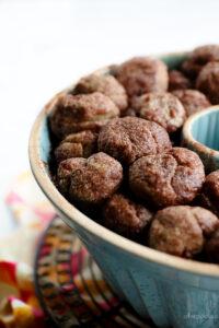 baked monkey bread balls