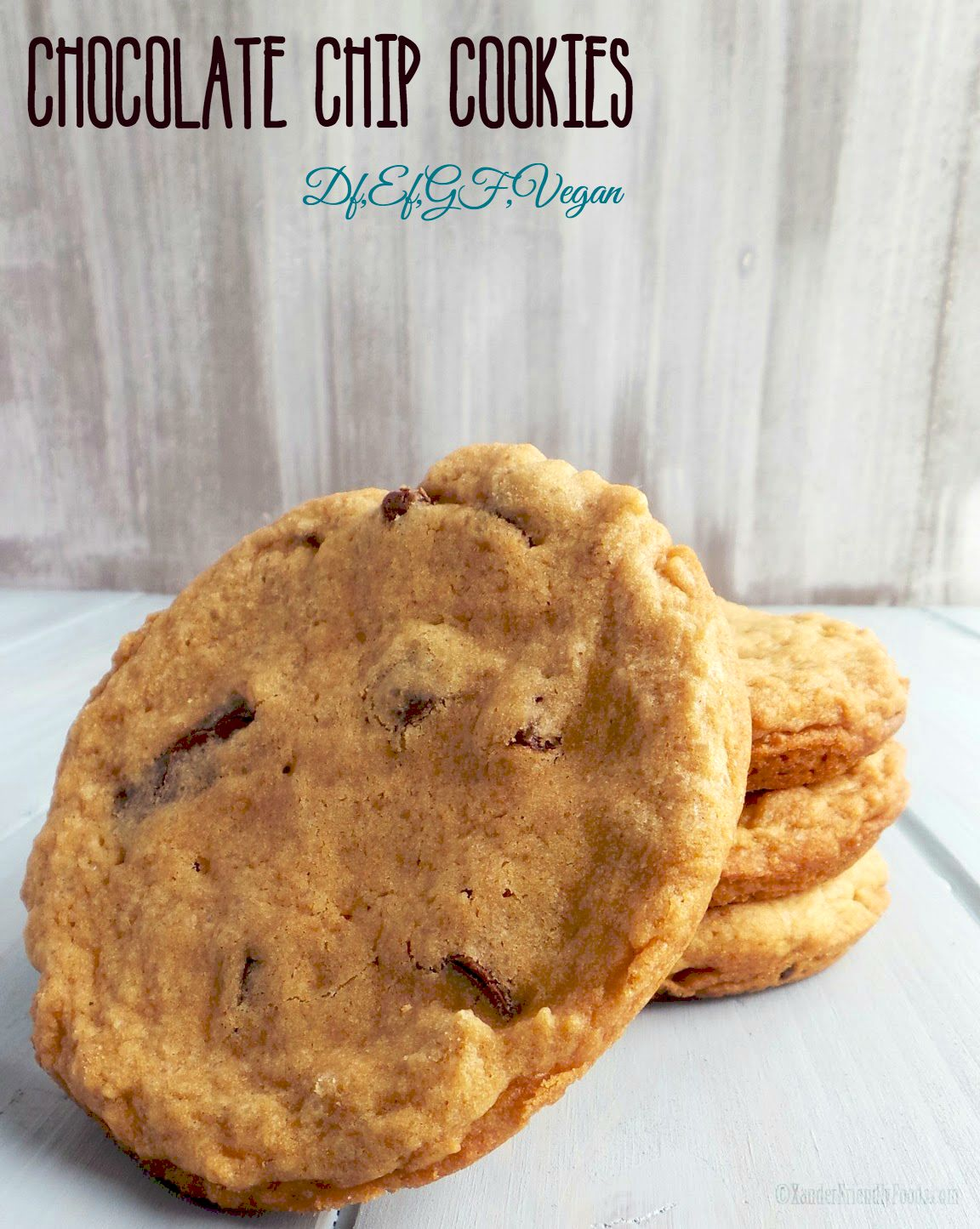 Allergy friendly & vegan cookies