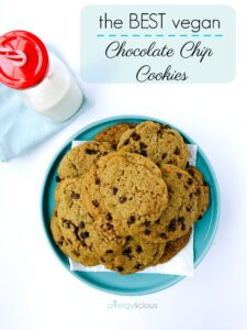 The BEST Chocolate Chip Cookies {gf,df,nf,ef}