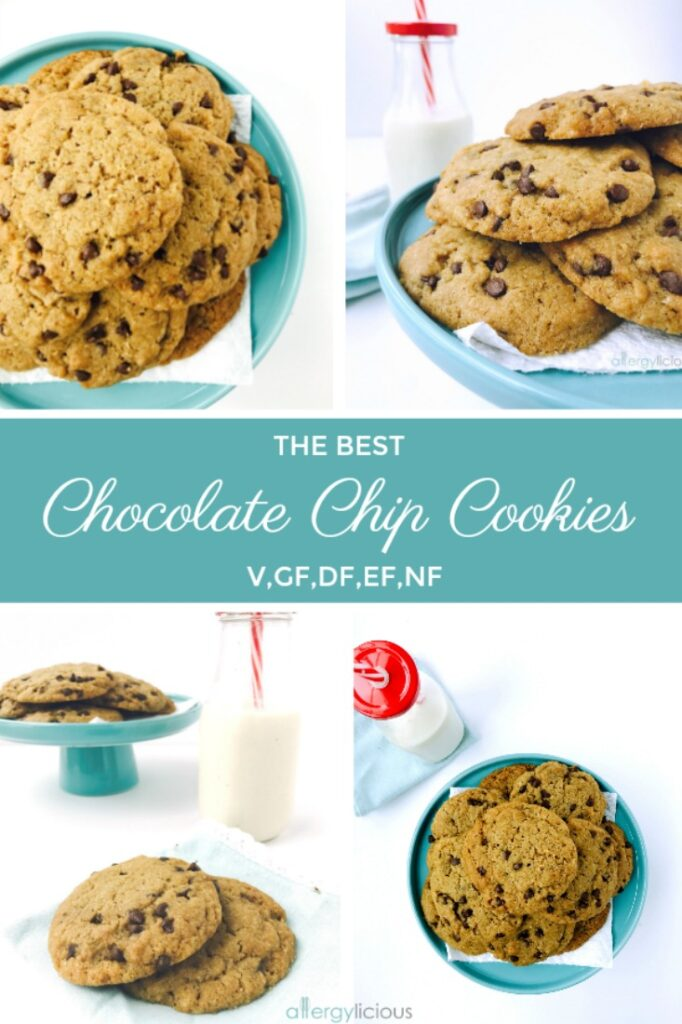Allergy-friendly chocolate chip cookies