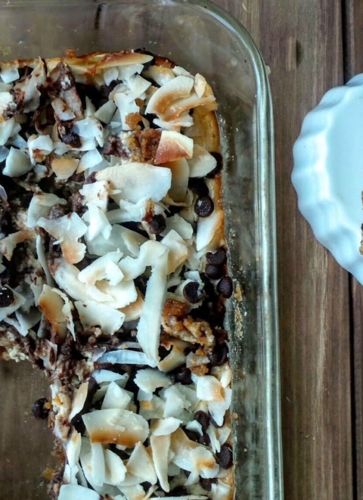 Coconut Cloud Cheesecake Bar