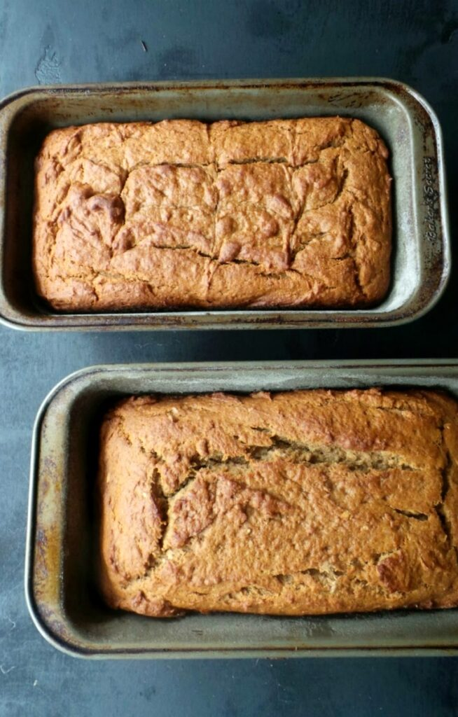 Banana Bread French Toast Loaves
