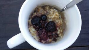 Steel Cut Oats To-Go for a healthy, allergy-free breakfast