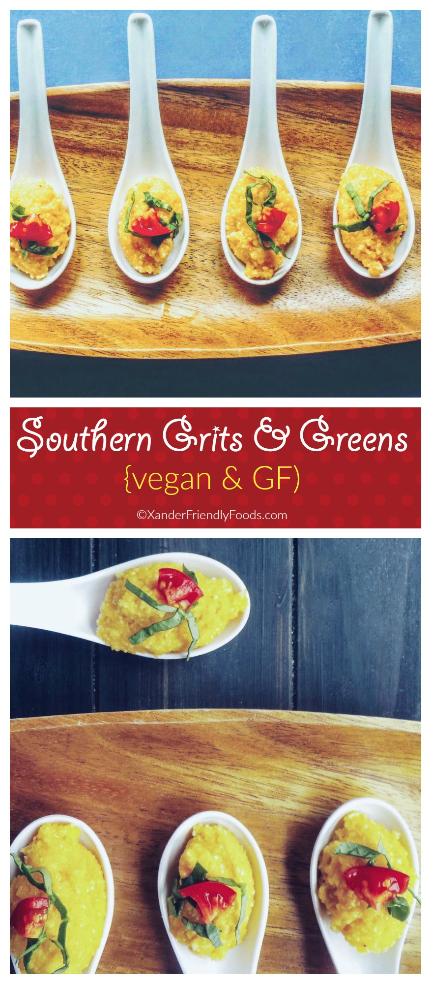 Vegan & Gluten Free, Southern Style Grits