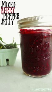 Mixed Berry Pepper Jelly