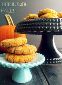 Pumpkin Snickerdoodles, your new favorite cookie