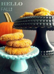 Pumpkin Snickerdoodles, your new favorite cookie