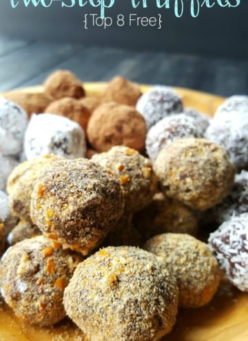 Perfect for any holiday party, Allergy-friendly truffles made in 2 easy steps