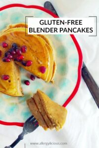Pinterest Fluffy Blender Pancakes