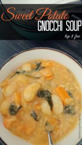 Sweet Potato & Gnocchi Soup