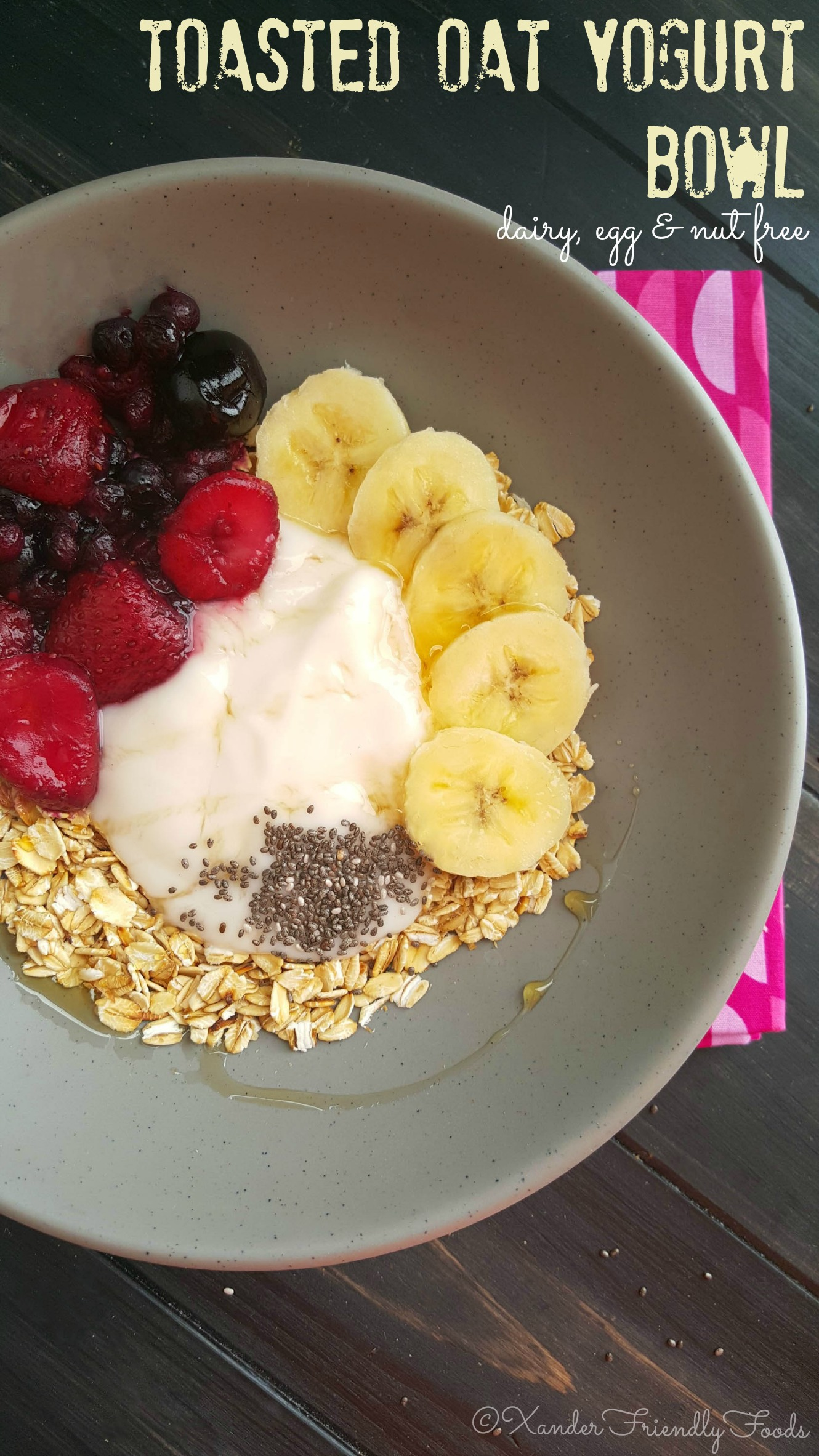 Toasted Oat & Yogurt Bowl