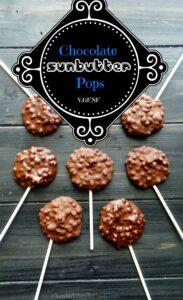 Chocolate SunButter Crunch Pops