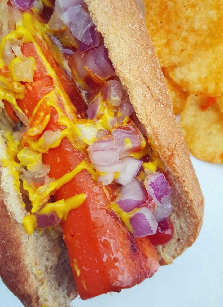 Veggie Carrot Hot Dogs