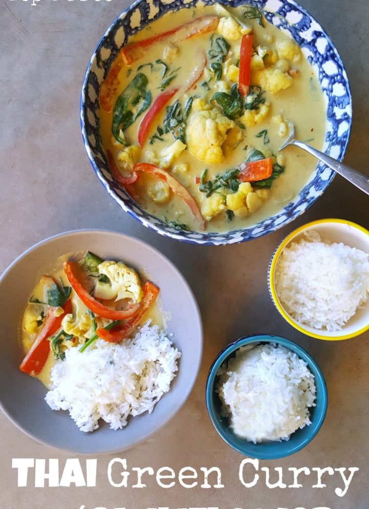 Thai Green Curry with Cauliflower