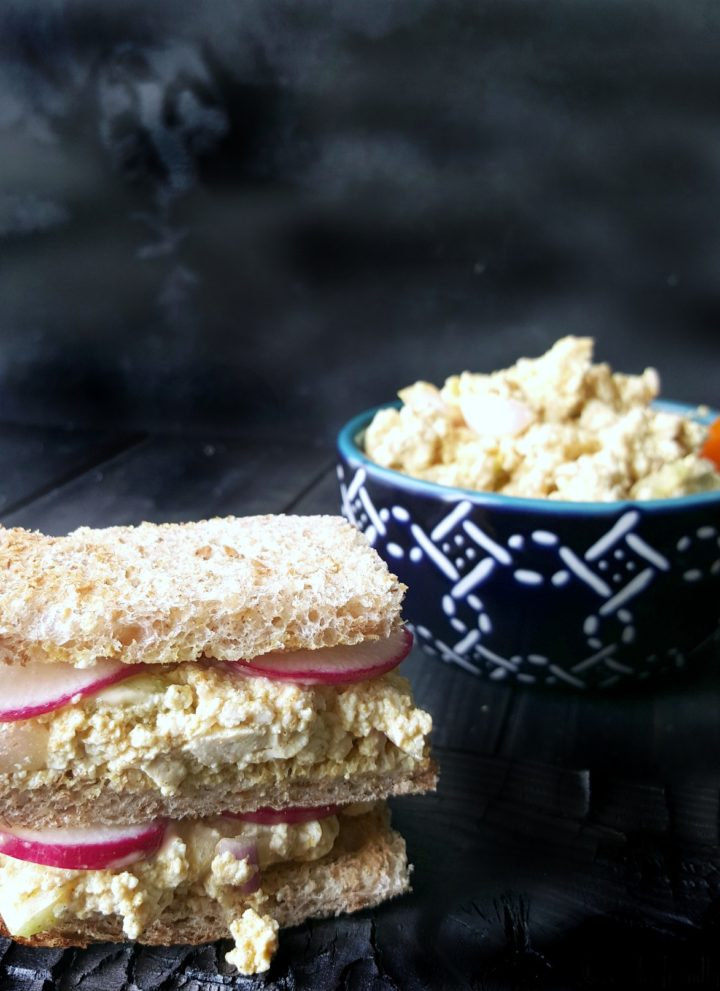 Eggless Salad Sandwich