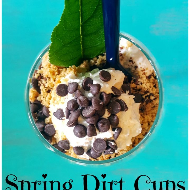 Spring Dirt Cups