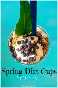 Eat dirt & love it! Top 8 free & Vegan friendly Springtime favorite treat. www.allergylicious.com