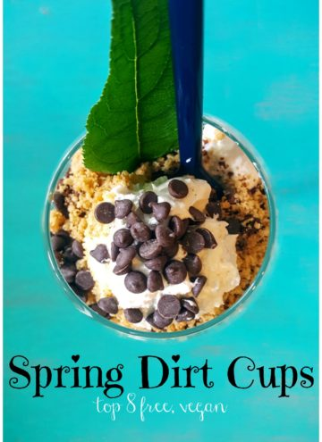 Eat dirt & love it! Top 8 free & Vegan friendly Springtime favorite treat. www.allergylicious.com