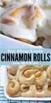 Vegan Cinnamon Rolls Long Pin