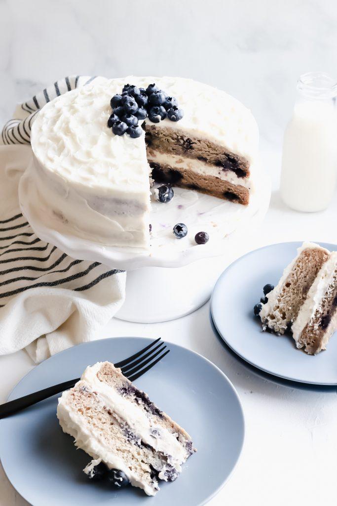 banana dairy free cake