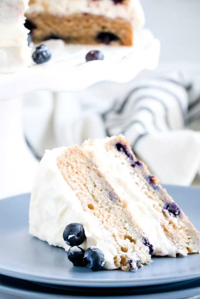 blueberry banana cake yum