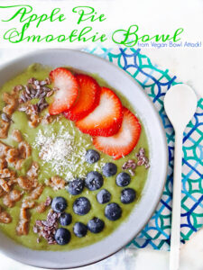 Apple Pie Smoothie Bowl 1