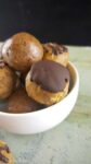 Chocolate Mocha Protein Bites- easy to make, guilt free & allergy-friendly