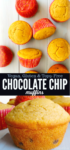 Pinterest Long Pin Elf Chocolate Chip Muffins