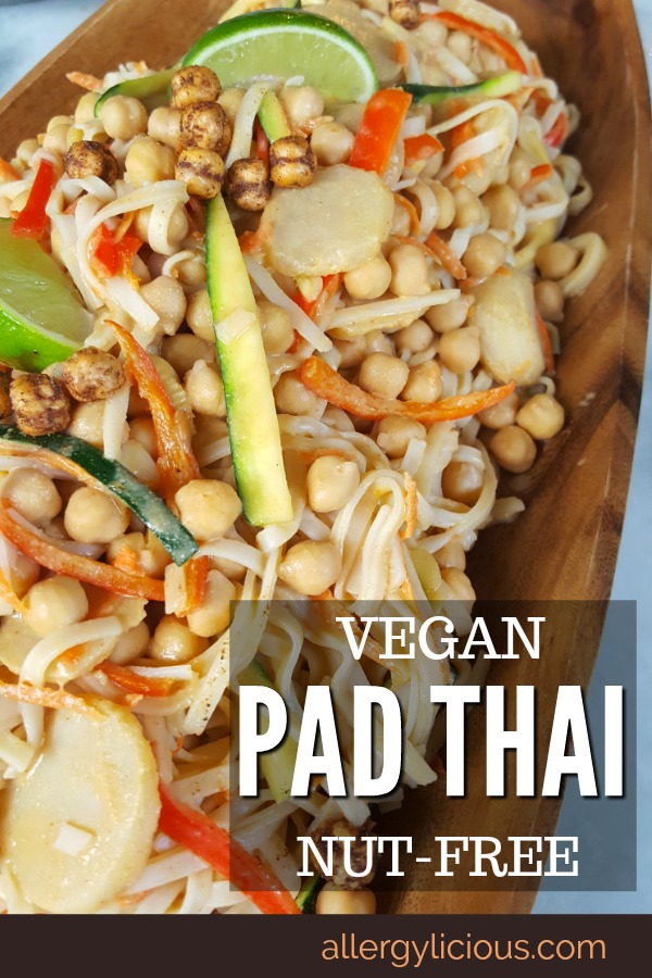 Vegan pad thai pinterest
