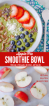 Apple Pie Smoothie Bowl Long pin