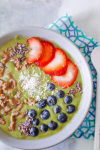 smoothie bowl love