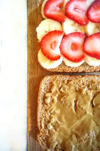 4 ingredient waffle sammie