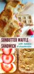 waffle sandwich long pin