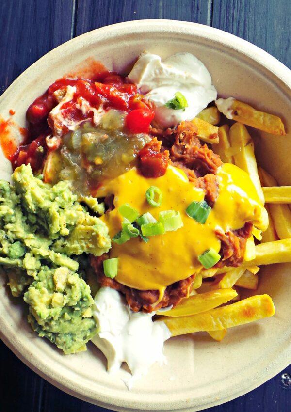 Papas Nachos (Mexican French Fries)