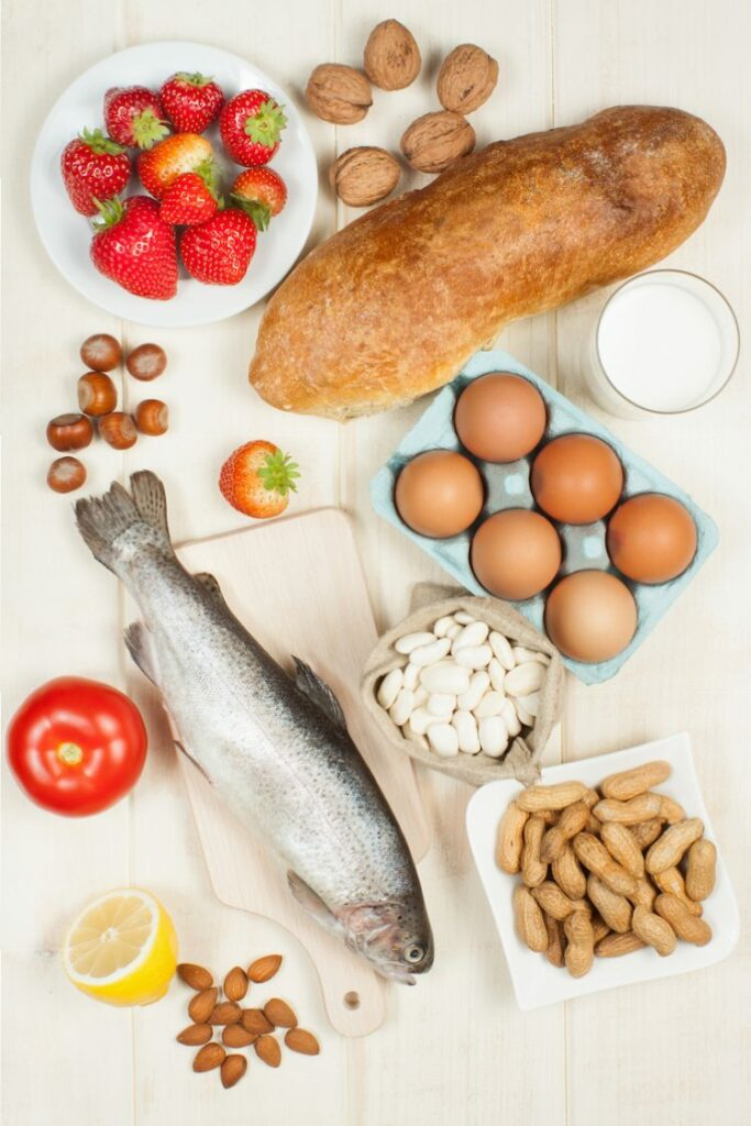 Easy to understand, printable guide for Food Allergies