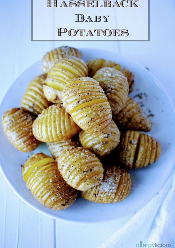How to Make Hasselback Baby Potatoes